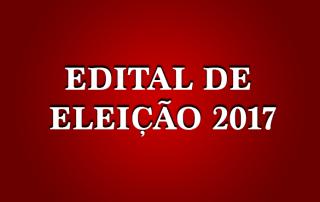 EDITAL eleitoral 2017